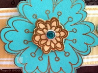 Stamping_turquoise_flower_4