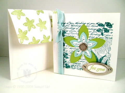 Stampin up fresh cuts for you