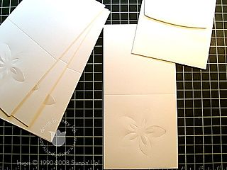 Stampin up fresh cuts notes