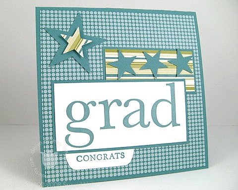 Stampin up graduation
