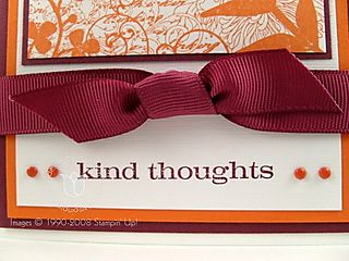 Stampin up kind thoughts close