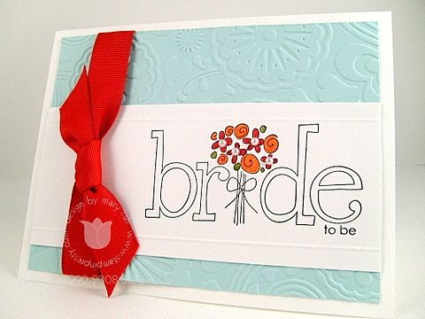 Stampin up bride