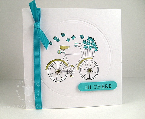 Stampin up on two wheels