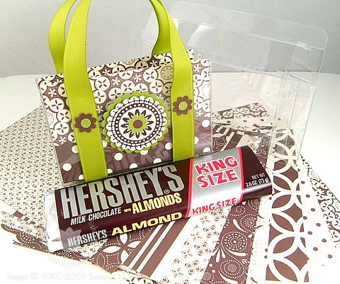 Stampin up au chocolate candy