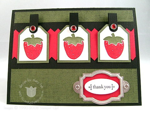 Stampin up last chance berry