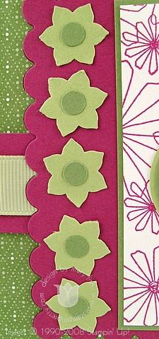 Stampin up spring bundle boho