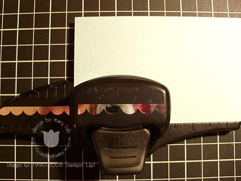Stampin up scallop punch 2