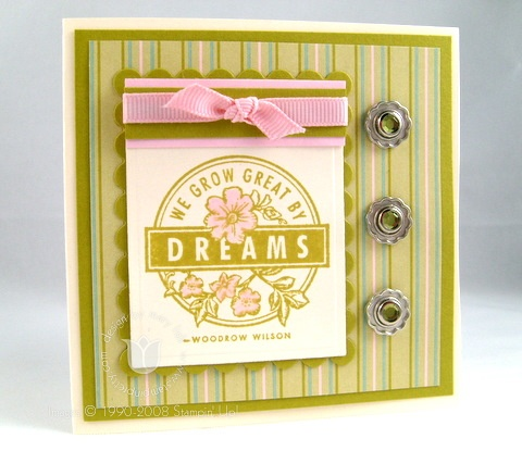 Stampin up kiwi dreams