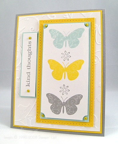 Stampin up kind butterflies