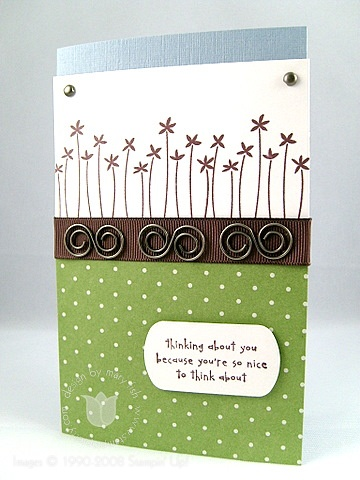 Stampin up hodgepodge sweet dreams
