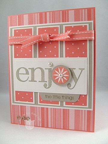 Stampin up groovy little things