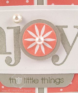 Stampin up groovy little things close