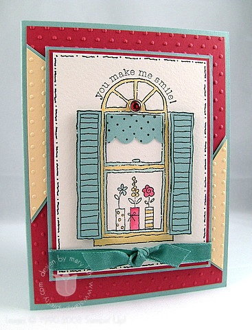 Stampin up baja window 2