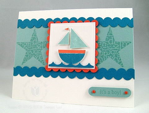 Stampin up rick rack
