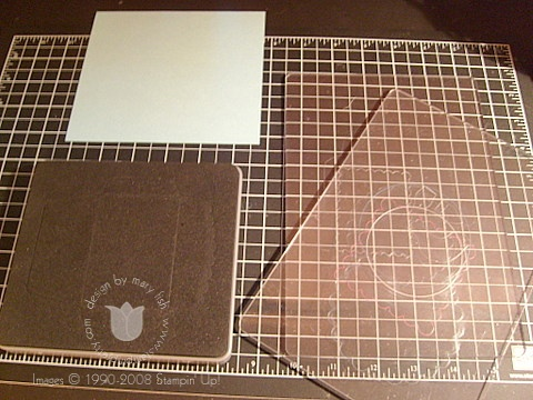 Stampin up scalloped envelope plates
