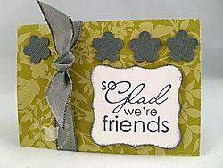 Stampin up scallop envelope glad