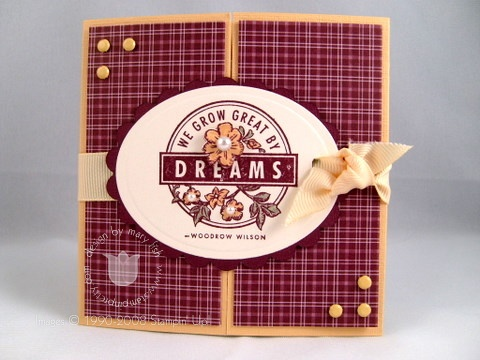 Stampin up parisian dreams
