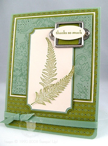Stampin up organic grace 2
