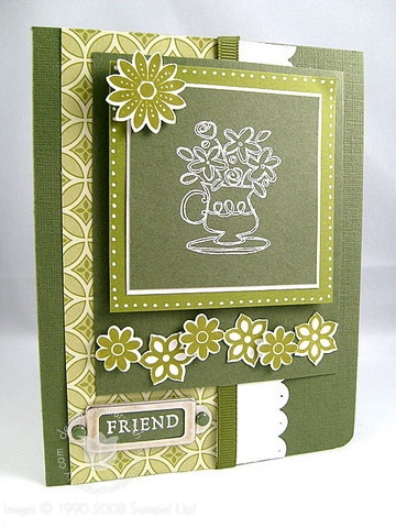 Stampin up fun and fast notes