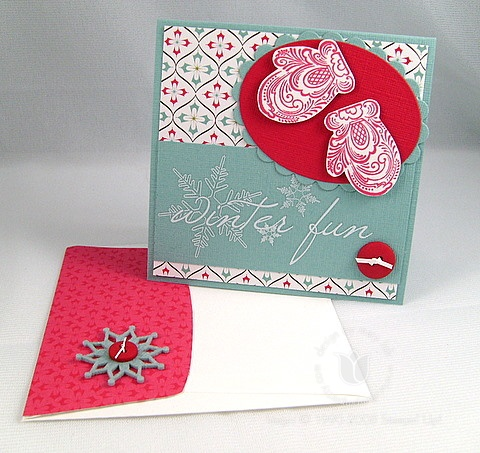 Stampin up winter fun 2
