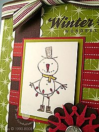Stampin up mr twigster close