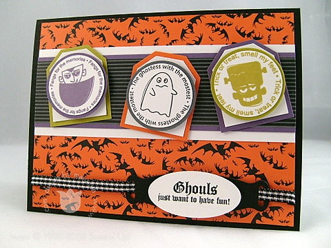 Stampin up ghouls