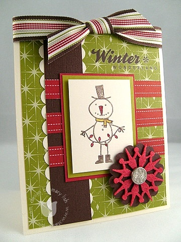 Stampin up mr twigster