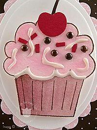 Stampin up crazy cupcake close