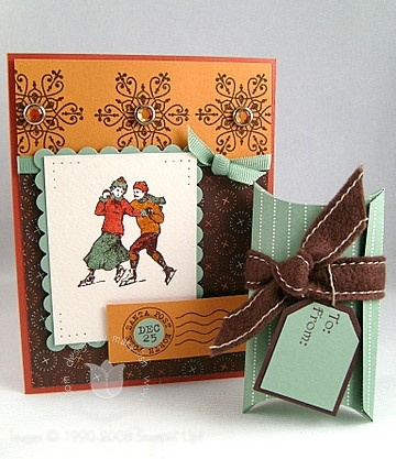 Stampin up winter post combo