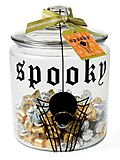 Stampin up spooky spider jar