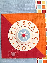 Stampin up celebrate you close up