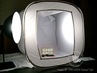 Stampin up photo tent