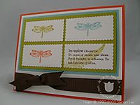 Stampin up organic grace right dark