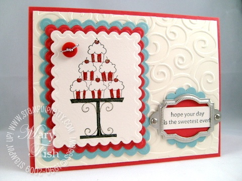 Stampin up crazy for cupcakes