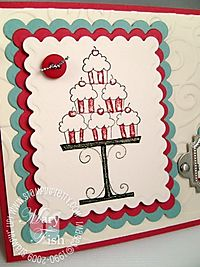 Stampin pretty crazy for cupcakes close