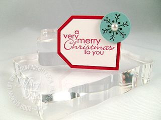 Stampin up my sentiments christmas