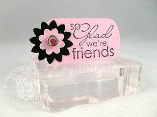 Stampin up my sentiments friends