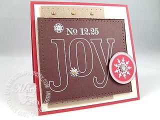 Stampin up pizza box card