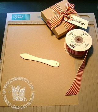 Stampin up pizza box 1