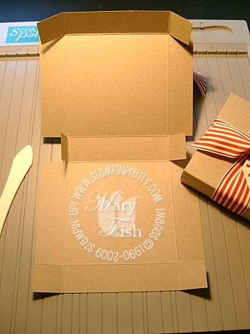 Stampin up pizza box 4