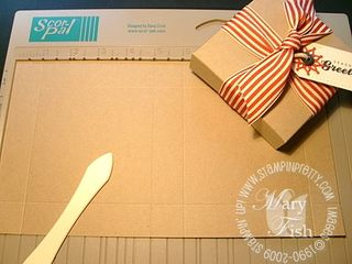 Stampin up pizza box 3