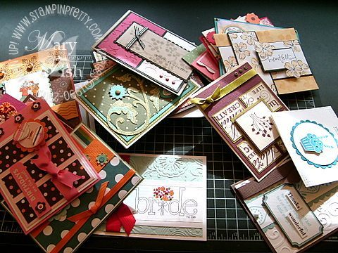 Stampin up memory keeper cards