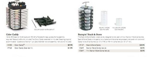 Color caddy and stack and store