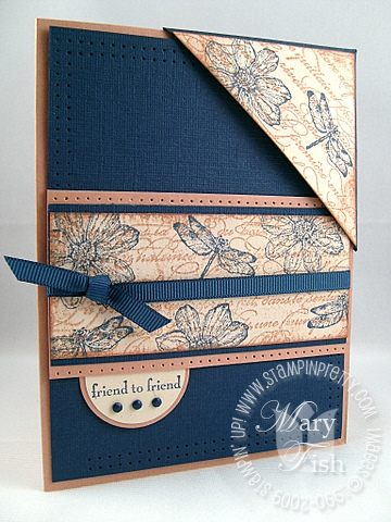 Stampin up organic grace bookmark