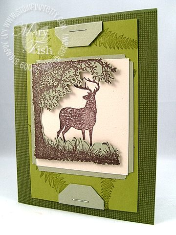 Stampin up nature silhouettes