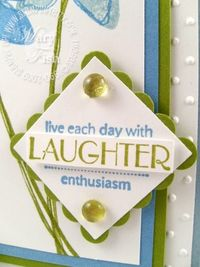 Stampin up wonderful you beate close up
