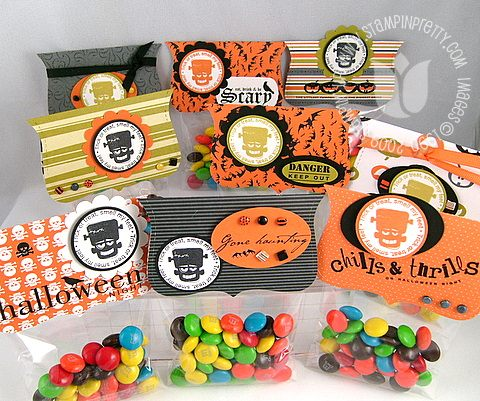 Stampin up halloween ghostly treats