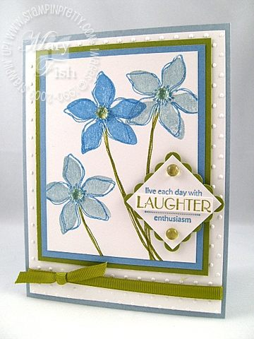 Stampin up wonderful you beate