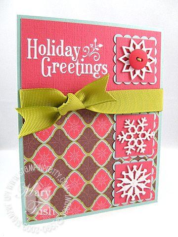 Stampin up holiday treasures