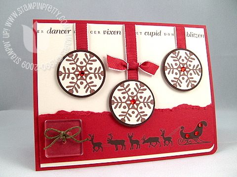Stampin up best wishes and more reindeer final